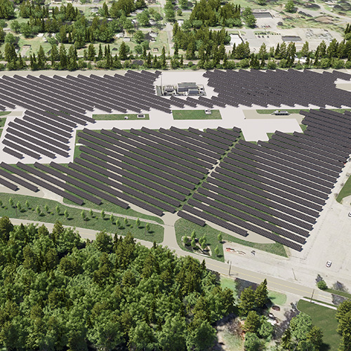 News Amphenol Aerospace Opens Largest Solar Farm Project in New York State